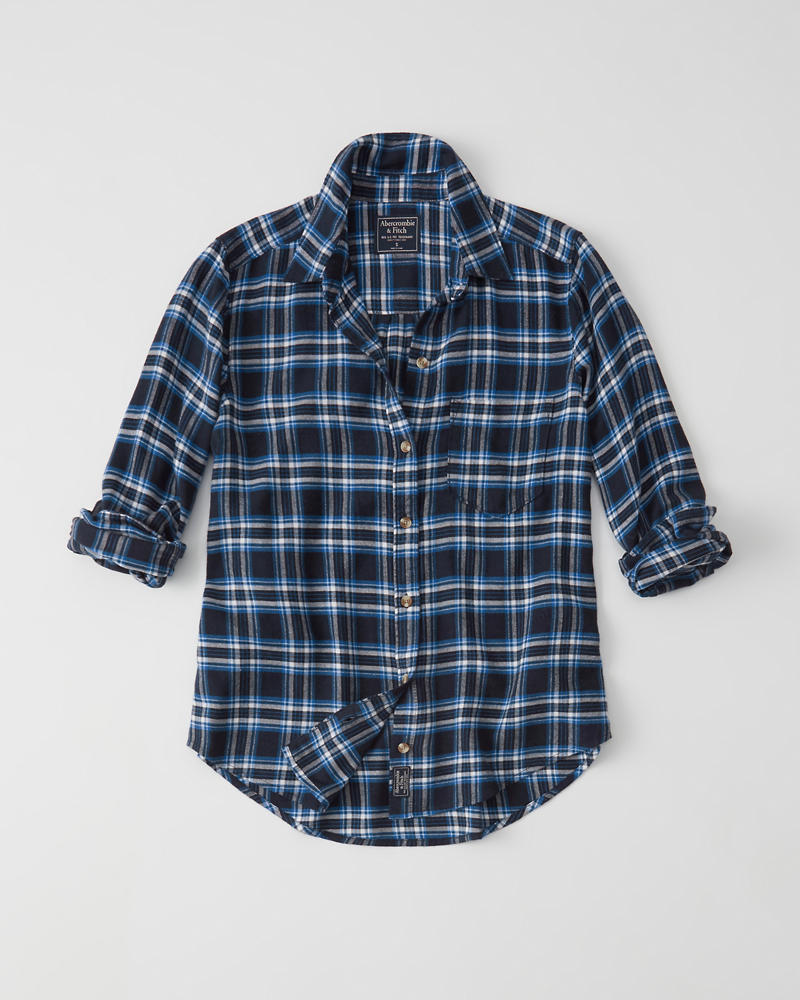 Womens Flannel Shirt Womens Clearance Abercrombie Com