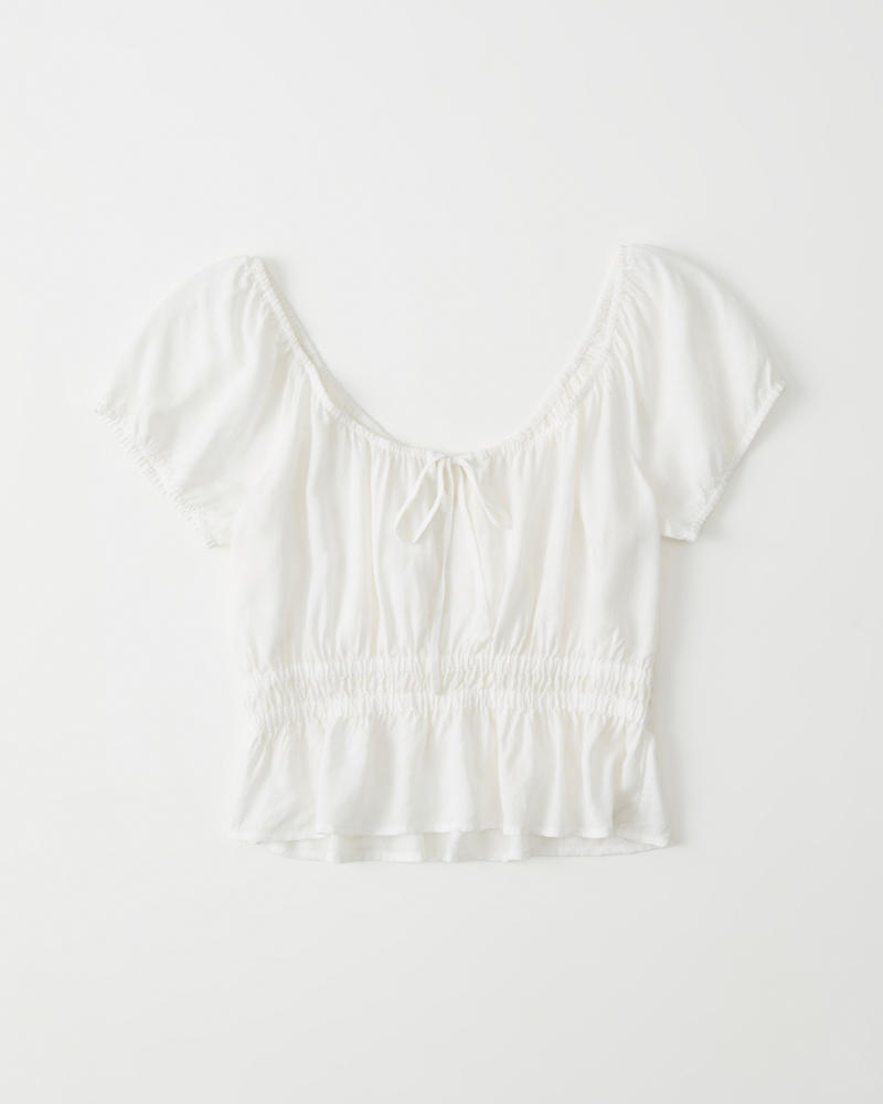 Scoopneck Blouse by Abercrombie & Fitch