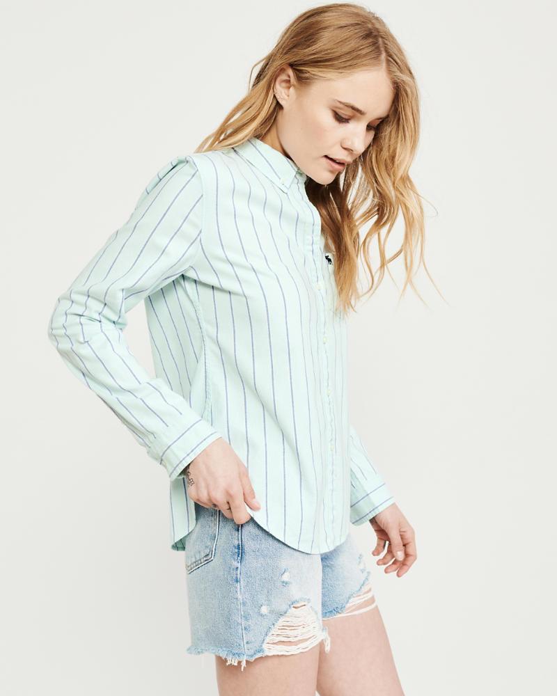 Womens Oxford Shirt | Womens Clearance | Abercrombie com