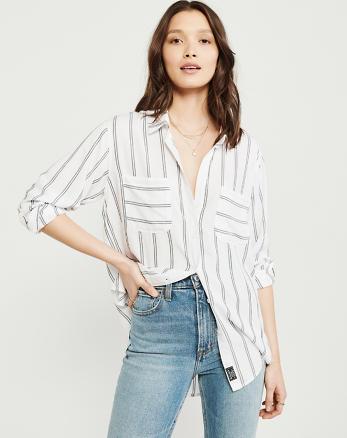 38da22a43299b1 Womens Shirts & Blouses | Abercrombie & Fitch