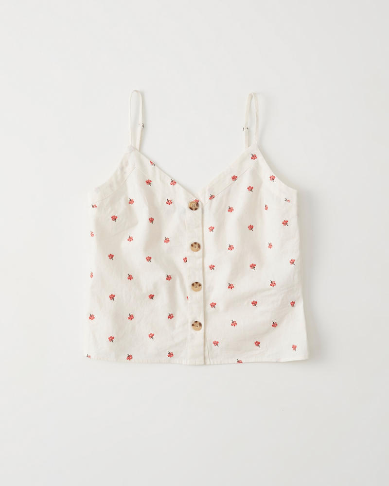 Button Up Cami by Abercrombie & Fitch
