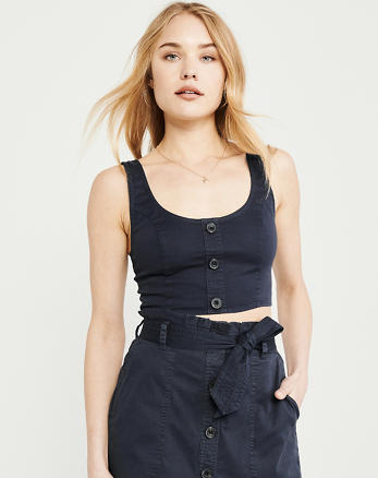 99235be48 Camisas y blusas de mujer | Ofertas | Abercrombie & Fitch