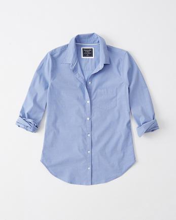 ANFPoplin Shirt