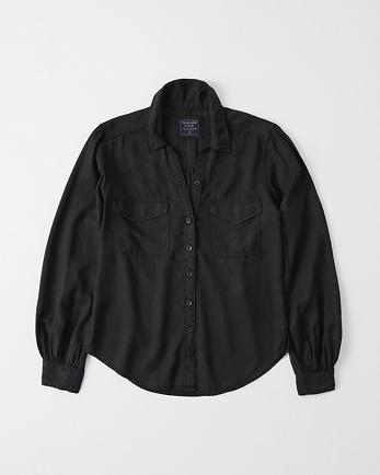ANFLong-Sleeve Utility Shirt