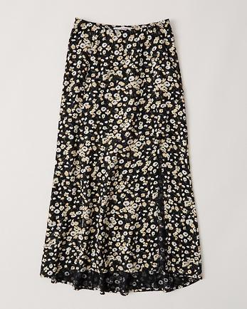 ANFHigh Slit Midi Skirt