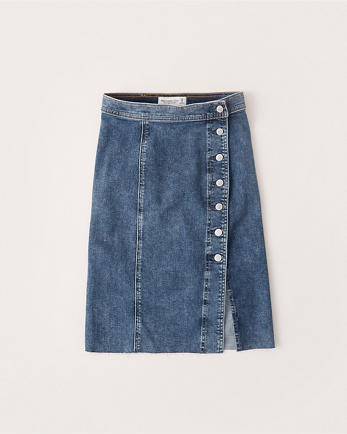 ANFDenim Midi Skirt