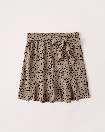 ANFRuffle Hem Mini Skirt