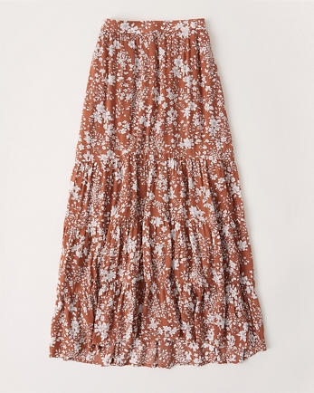 ANFTiered High-Low Maxi