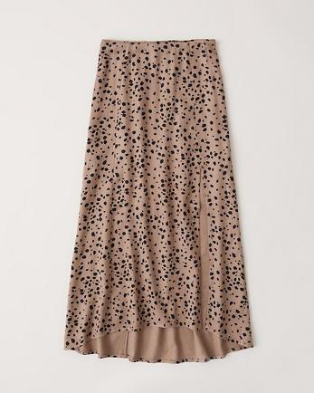 ANFHigh Waist Midi Skirt