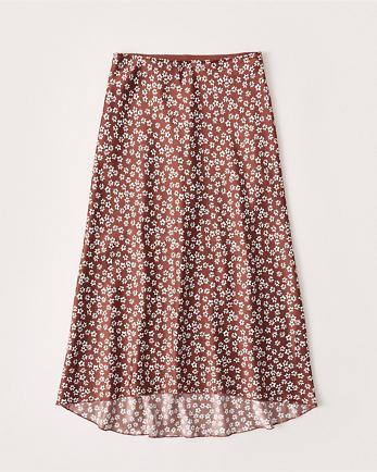 ANFHigh-Low Midi Skirt