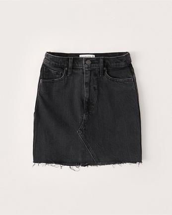 ANFCurve Love Denim Mini Skirt