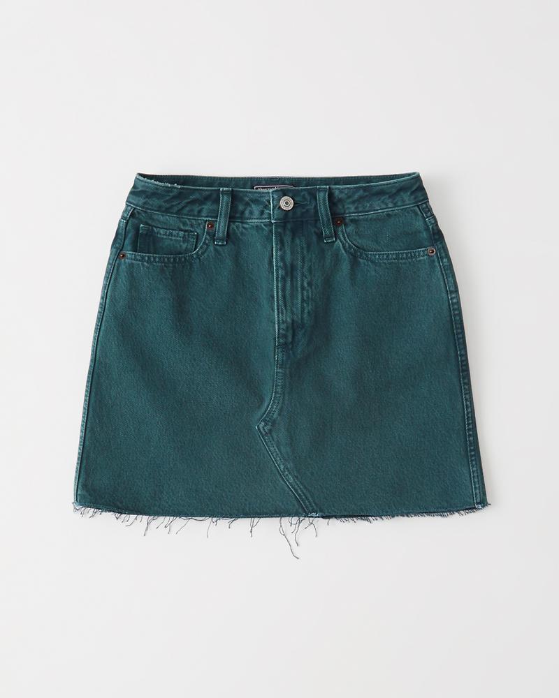 9bf1b371ef5 Womens Denim Mini Skirt