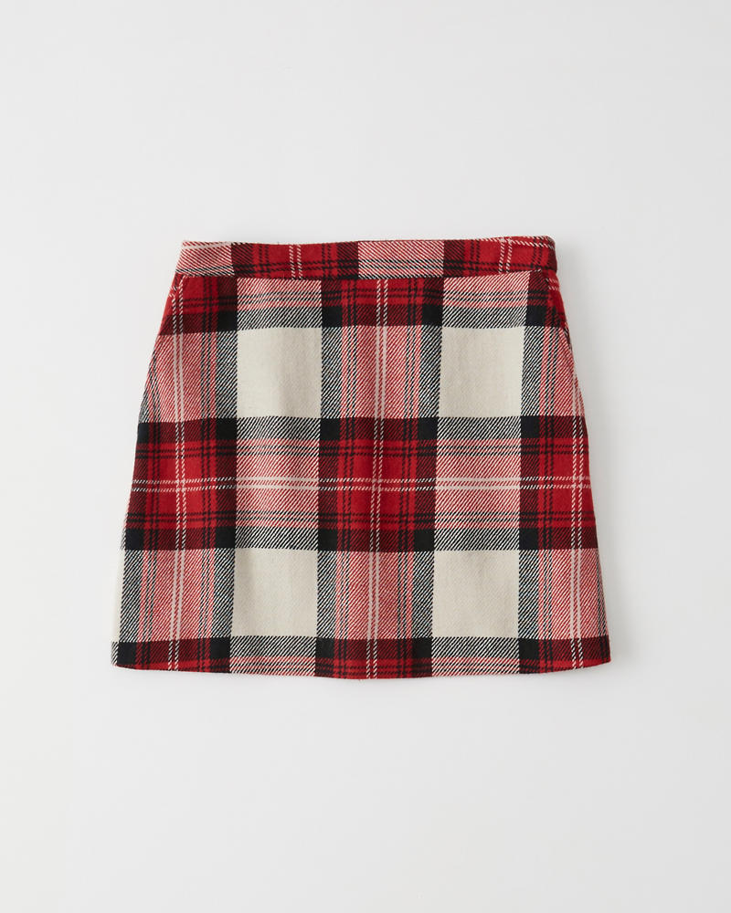 Plaid Mini Skirt by Abercrombie & Fitch