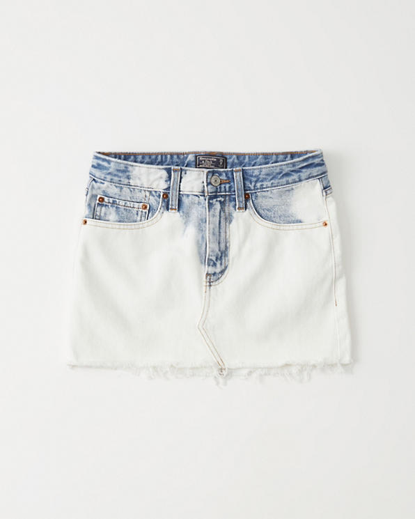 1462e61607 Womens Light Wash Micro Mini Denim Skirt | Womens Sale | Abercrombie.com