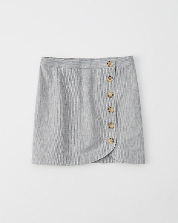 c0e62ff281 Womens Button-Front Mini Skirt | Womens Clearance | Abercrombie.com