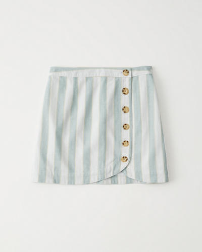 32288d751 Mujer Minifalda abotonada | Mujer Liquidación | Abercrombie.com