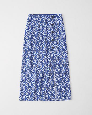 Floral Maxi Skirt!