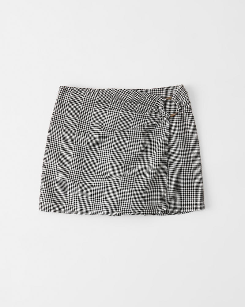 b7d0c9842 Mujer Falda pantalón con detalle de herrajes | Mujer Liquidación ...