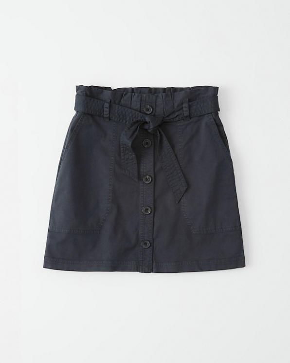 201571121 Mujer Falda abotonada utilitaria | Mujer Liquidación | Abercrombie.com