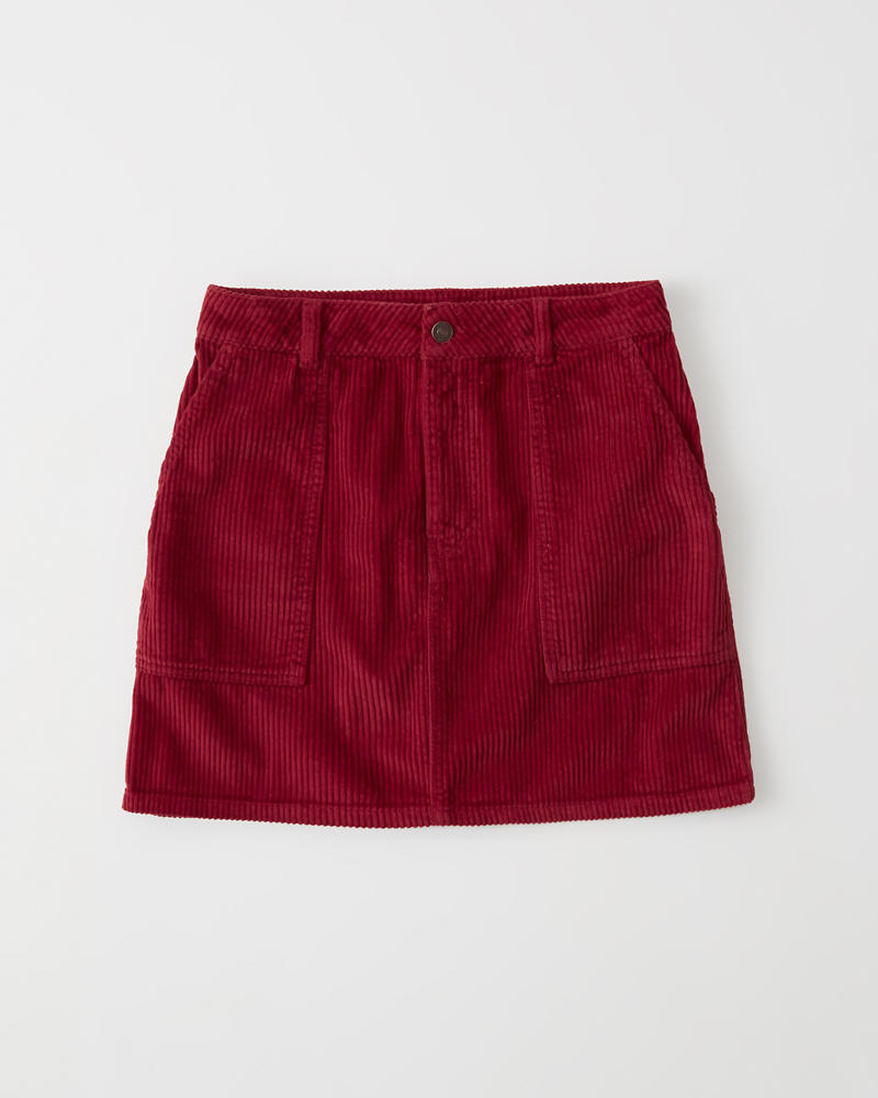 3bcbe5c31e3939 Womens Corduroy Mini Skirt | Womens Clearance | Abercrombie.com