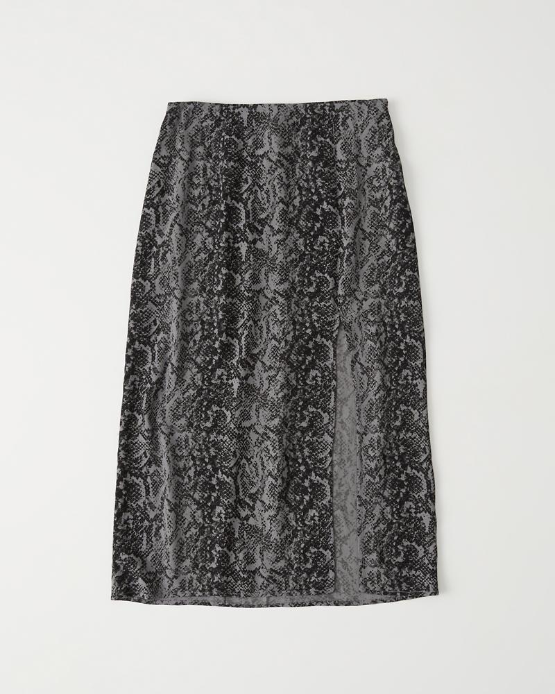 1cecc65b63218c High Slit Midi Skirt | Abercrombie.sg