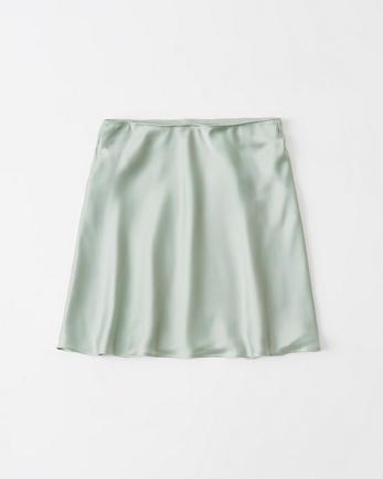 ANFSatin Mini Skirt