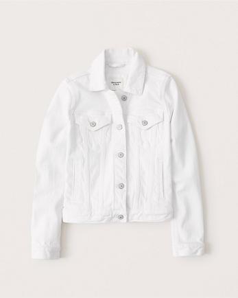 ANFWhite Denim Jacket