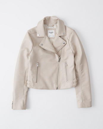 ANFFaux Leather Moto Jacket