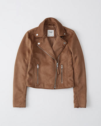 ANFThe Faux Suede Moto