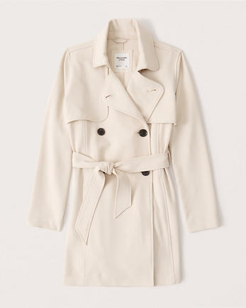 ANFDrapey Trench Coat