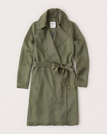 ANFBelted Trench coat