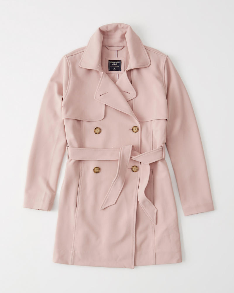 best choice attractive & durable top-rated Womens Drapey Trench Coat | Womens Sale | Abercrombie.com