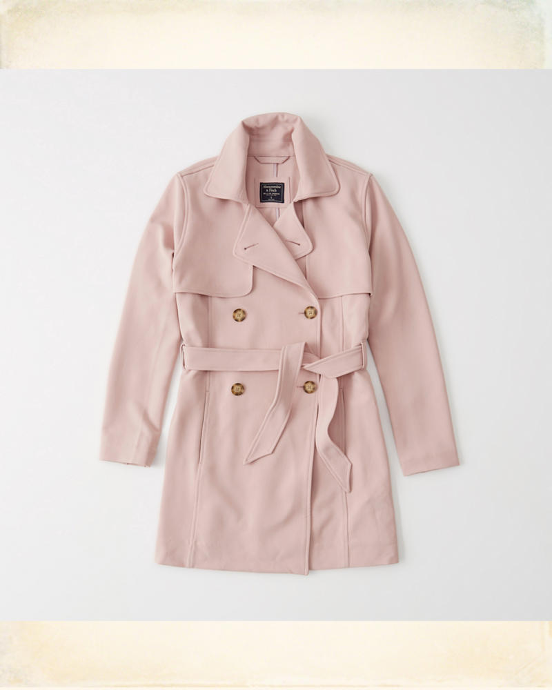b541af11 Womens Drapey Trench Coat | Womens | HollisterCo.com