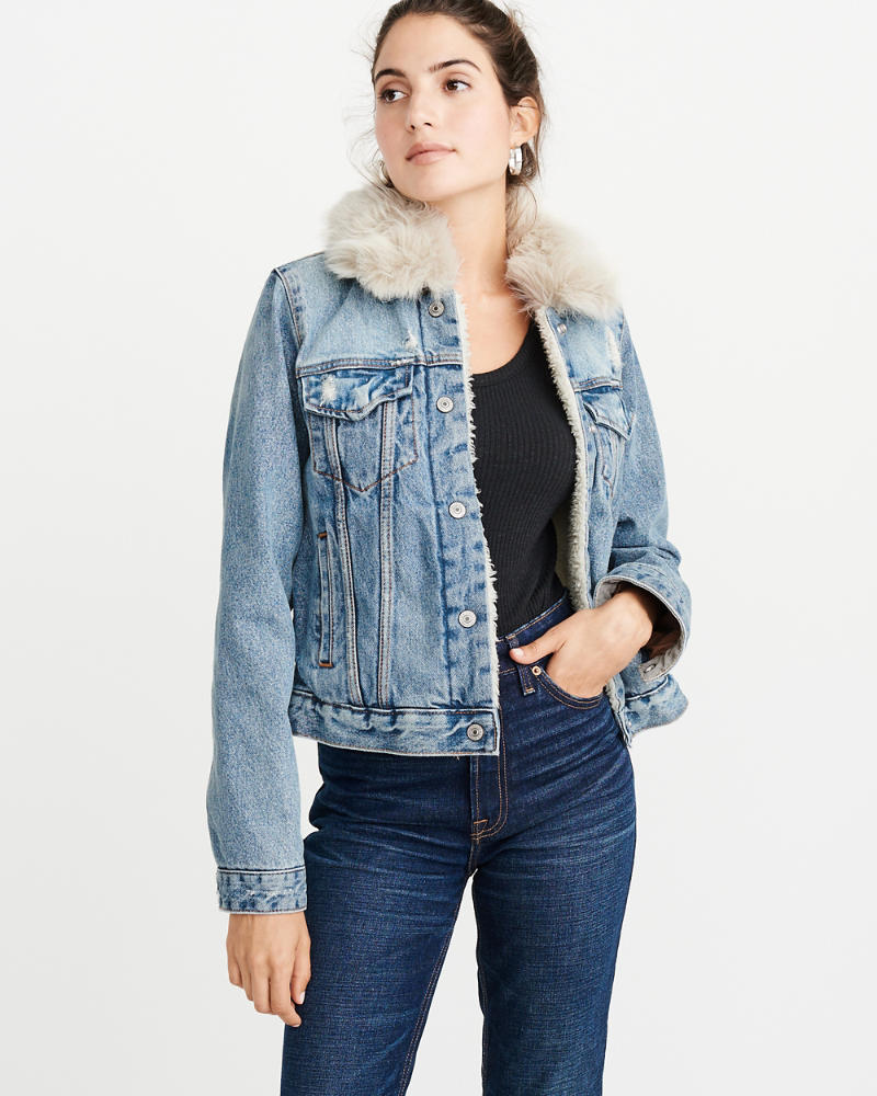 pictures 16 Sherpa-Lined Denim Jackets to Cosy Up in This Winter