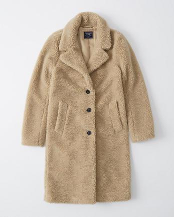 ANFSherpa Dad Coat