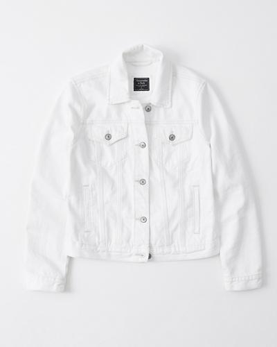White Denim Jacket | Tuggl