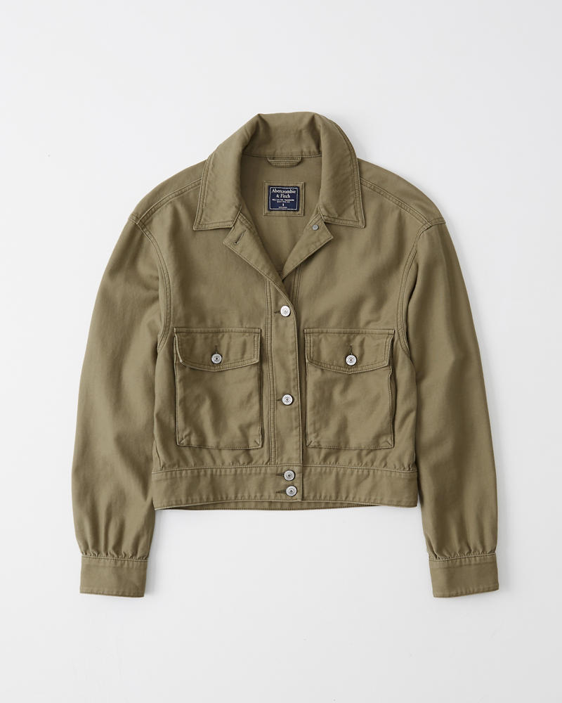 Cappotti & giacche donna   Abercrombie & Fitch