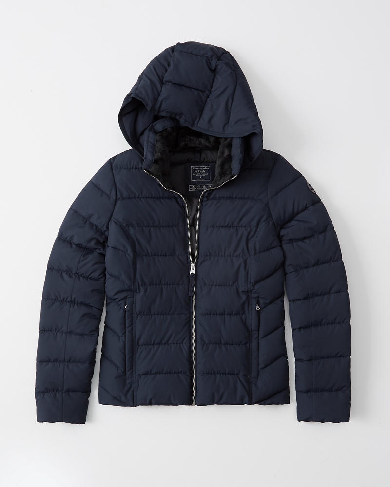 Womens Packable Puffer Coat | Womens Jackets & Coats