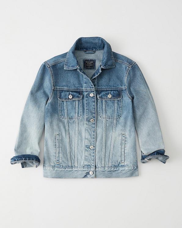etsiä Uutuudet lika halpaa Womens Ombre Oversized Denim Jacket | Womens Sale ...