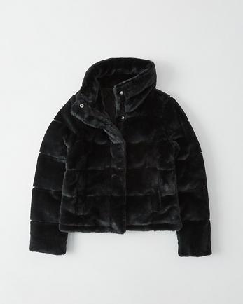 ANFMini Faux-Fur Puffer Jacket