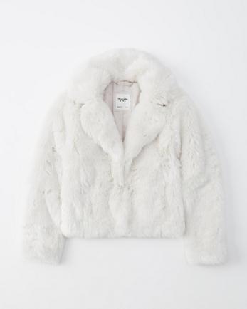 ANFFaux Fur Short Coat