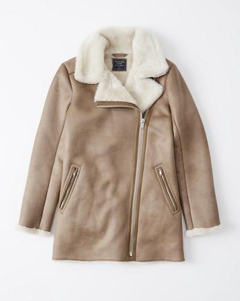 ANFFaux Shearling Jacket