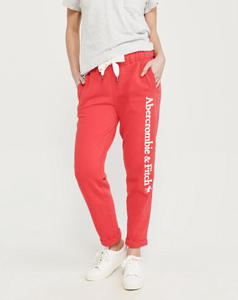 813cebbae31c0 Womens Sweatpants & Joggers | Abercrombie & Fitch