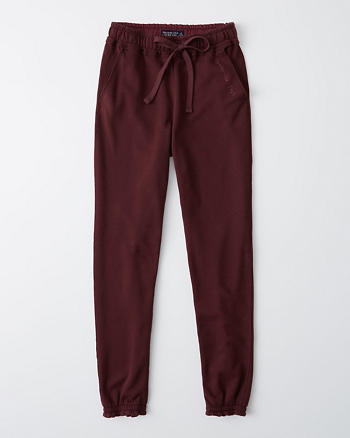 high-rise-sweatpants by abercrombie-&-fitch
