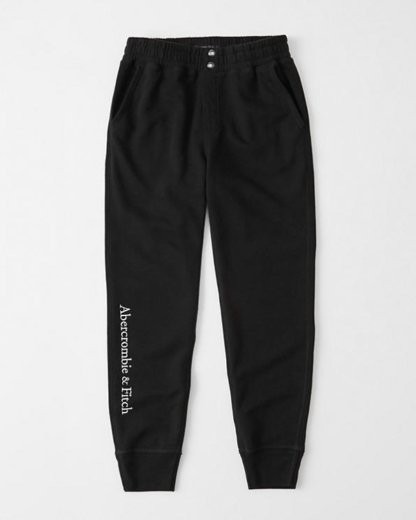 super specials fashionable and attractive package authentic Womens High-Rise Logo Joggers | Womens softAF | Abercrombie.com