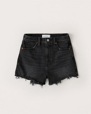 ANFUltra High Rise Mom Shorts