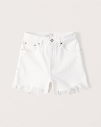 ANFCurve Love High Rise 4 Inch Mom Shorts