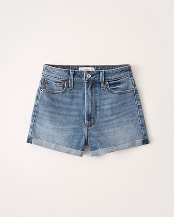 ANFHigh Rise Stretch Shorts