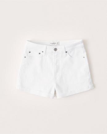ANFHigh Rise Stretch Shorts