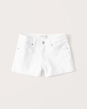 ANFMid Rise Stretch Shorts